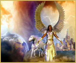 Angel of God in Heaven