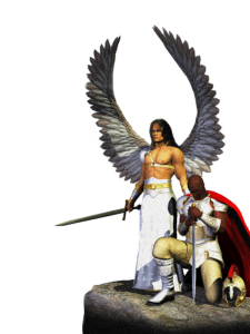 Prayer Warrior with Angel