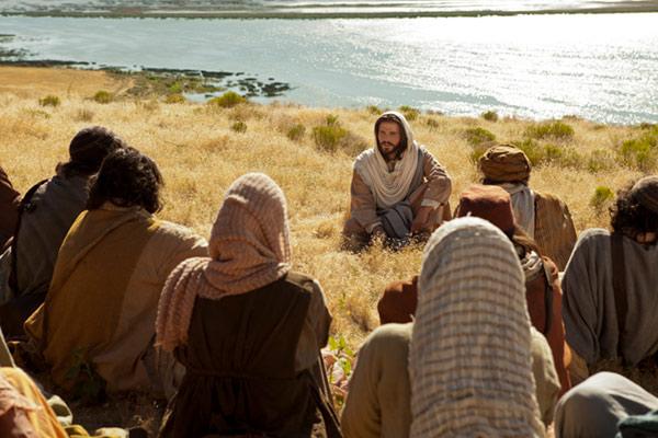 Jesus Taught them how to pray
