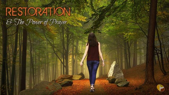 Restoration & Power of Prayer Image holder