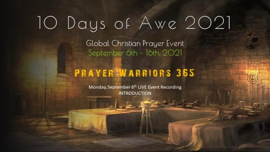 Prayer Warriors 365 -10-days-2021-video-image -recording-day-Introduction
