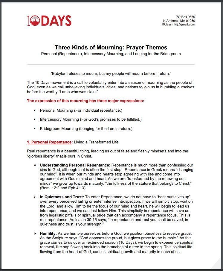 Three types of morning prayer image